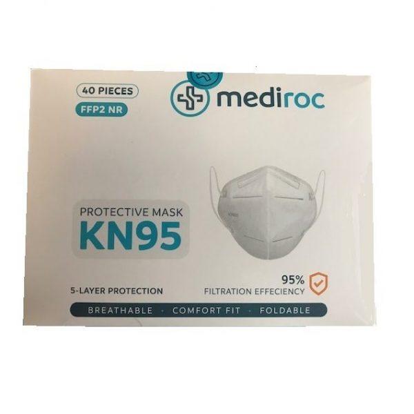 Mediroc40pcsKN95